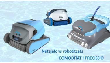 Netejafons robotitzats: COMODITAT I PRECISSIÓ