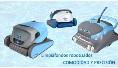 Limpiafondos robotizados: COMODIDAD Y PRECISIÓN